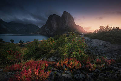 Norway Wall Art - Photograph - Autumn Is Coming by Carlos F. Turienzo