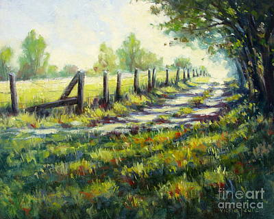 Painting - Autumn Is Coming by Vickie Fears