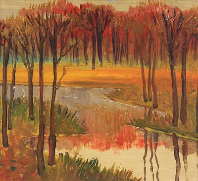 Nature Depiction Painting - Autumn by Stefan Shikerov