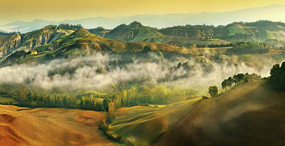 Autumn Field Wall Art - Photograph - Autumn... by Krzysztof Browko
