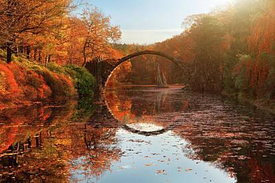 Germany Photograph - Autumn Lake by Daniel ?e?icha