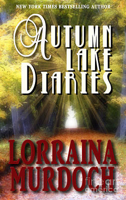 Pocketbook Cover Design Photograph - Autumn Lake Diaries by Mike Nellums