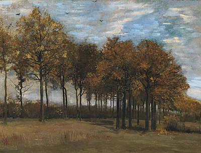 Autumn Landscape, C.1885 Art Print