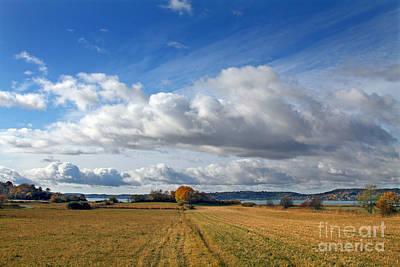 Photograph - Autumn Landscape by Lutz Baar