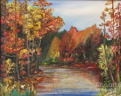 Painting - Autumn Landscape by Michael Anthony Edwards
