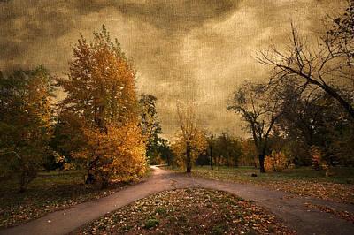 Designs In Nature Digital Art - Autumn Landscape by Svetlana Sewell