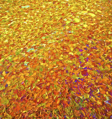 Painting - Autumn Leaves by David Letts