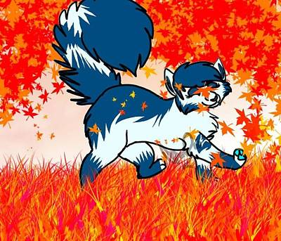Autumn Leaves Original