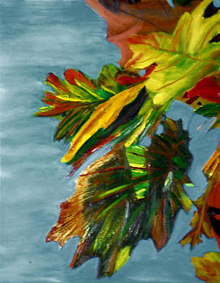 Painting - Autumn Leaves by Michael Daniels