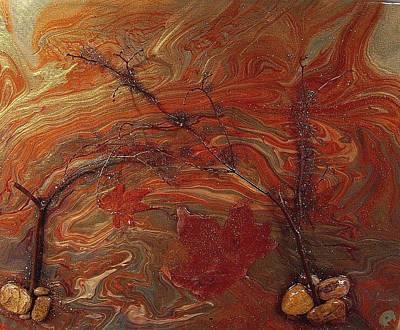 Autumn Leaves Art Print by Patrick Mock