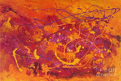 Painting - Autumn Leaves by Preethi Mathialagan