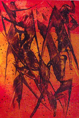 Painting - Autumn Leaves by Sandy Wager