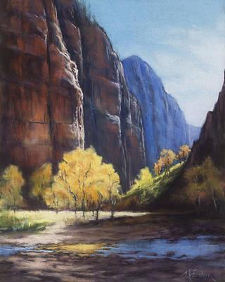 Painting - Autumn Light by Marjie Eakin-Petty
