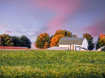 Autumn Light Print by Mary Timman