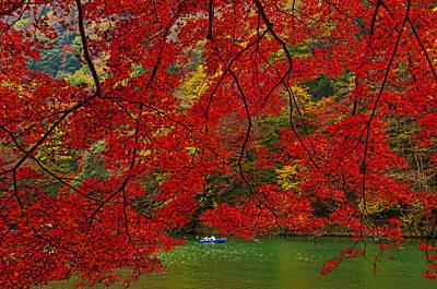 Autumn Love Art Print by Midori Chan