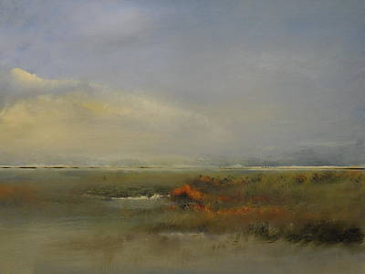 Cape Cod Painting - Autumn Marsh by Michael Marrinan