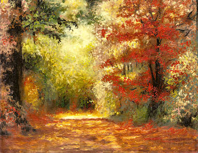 Autumn Memories Art Print