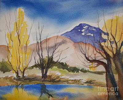 Painting - Autumn Millpond Two by Pat Crowther