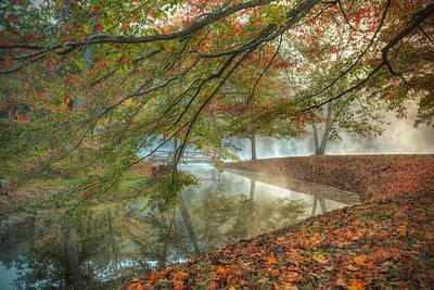 Autumn Mist Art Print