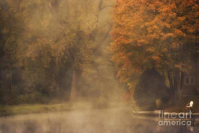 Autumn Mist Art Print by Julie Palyswiat