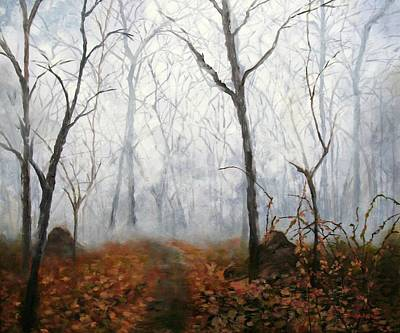 Painting - Autumn Mist by Marina Petro