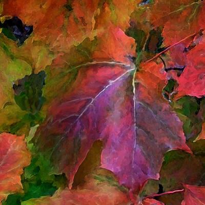 Autumn Art Mixed Media - Autumn Moods 2 by Carol Cavalaris