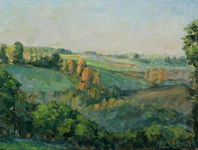Painting - Autumn Morning by Marco Busoni