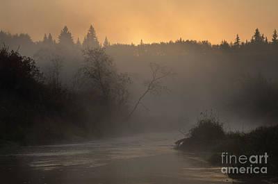 Sturgeon Photograph - Autumn Morning - Sturgeon River by Dan Jurak