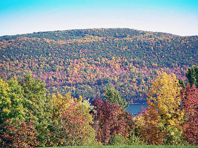 Lake Photograph - Autumn Mountain by Aimee L Maher Photography and Art Visit ALMGallerydotcom