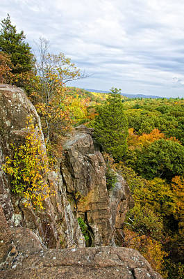 Fresh Photograph - Autumn Mountain View by Donna Doherty