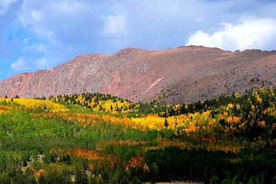Photograph - Autumn Mountainscape by Marilyn Burton