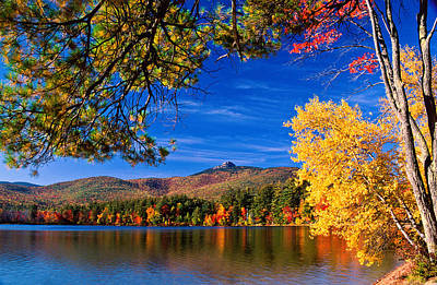 Autumn Mt Chocorua Nh Art Print