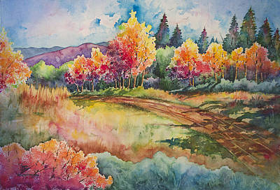 Autumn Near Taos Original by Michael Bulloch