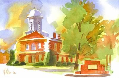 Autumn Observations Watercolor Original by Kip DeVore