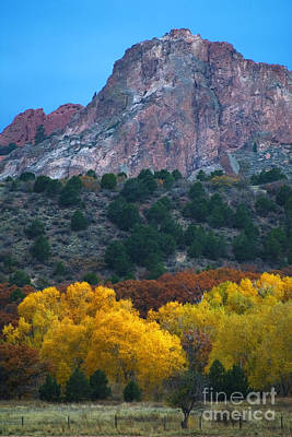 Steve Krull Royalty-Free and Rights-Managed Images - Autumn of the Gods by Steve Krull