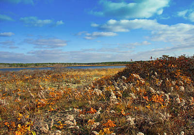 Cape Cod Photograph - Autumn On The New England Coast by Brooke T Ryan