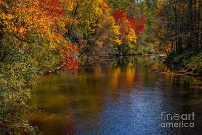 Photograph - Autumn On The River by Scott Hervieux