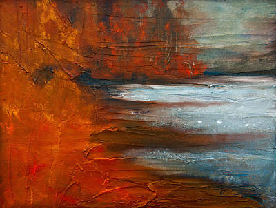 Painting - Autumn On The Sound by Jani Freimann