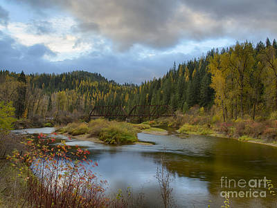 Photograph - Autumn On The St. Joe by Idaho Scenic Images Linda Lantzy