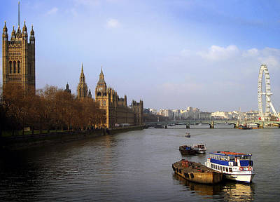 Photograph - Autumn On The Thames    by Stephen Norris