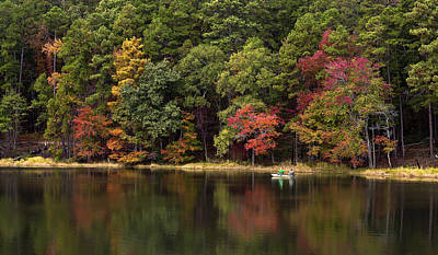 Fall Photograph - Autumn On The Water by Mark McKinney