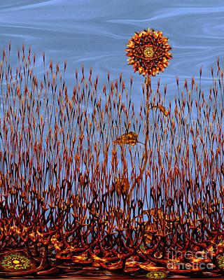 Autumn On Venus Art Print by Deborah Smith