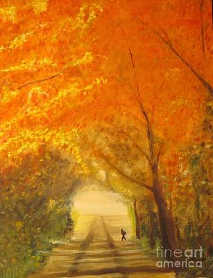 Landscape Painting - Autumn - Original Oil Painting  by Anthony Morretta