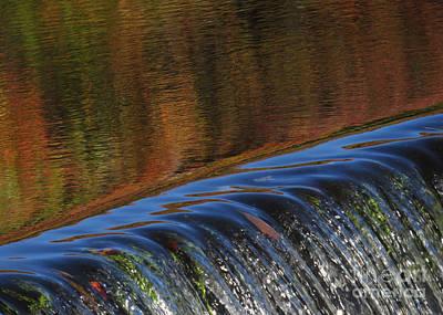 Autumn Over The Falls Art Print