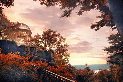 Photograph - Autumn Overlook by Jessica Jenney