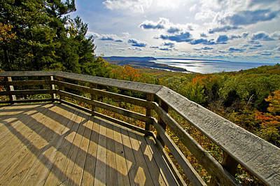 Photograph - Autumn Overlook by Owen Weber