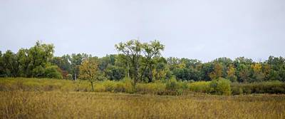 Photograph - Autumn Panorama by Bonfire Photography