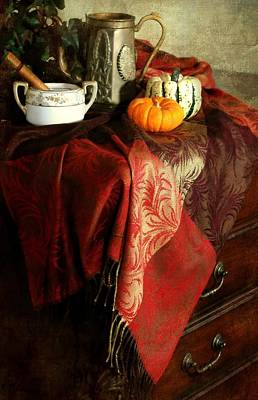 Autumn Pashmina Art Print