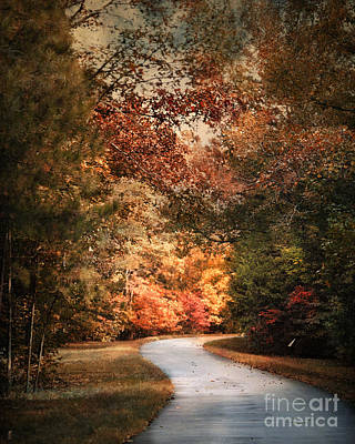 Photograph - Autumn Passage 1 by Jai Johnson