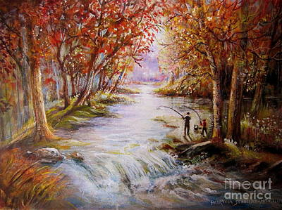 Painting - Autumn Peace by Patricia Schneider Mitchell